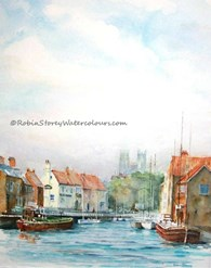 Beverley Beck Morning, original watercolour painting by Robin Storey