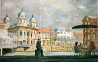 Princes Quay, original watercolour painting by Robin Storey